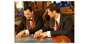 men in casino